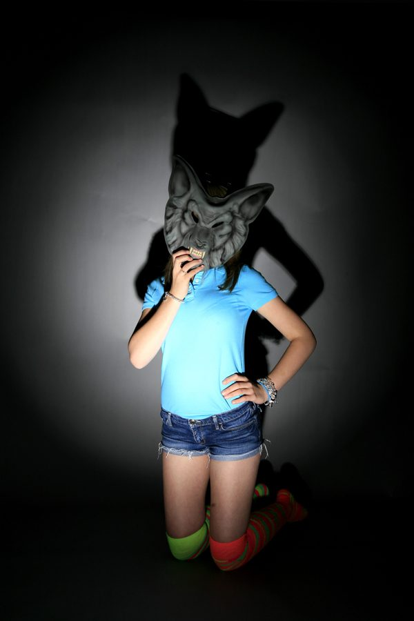 Wolf girl at PINNER PHOTOGRAPHY